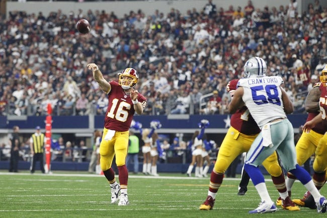 Washington Redskins vs. Dallas Cowboys - 9/18/16 NFL Pick, Odds, and Prediction