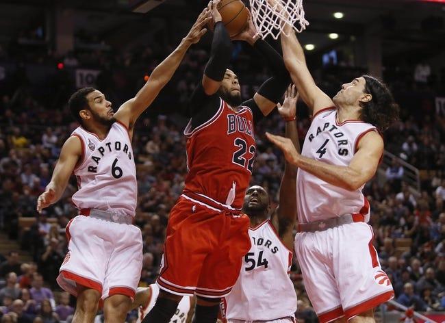 Toronto Raptors at Chicago Bulls - 2/19/16 NBA Pick, Odds, and Prediction
