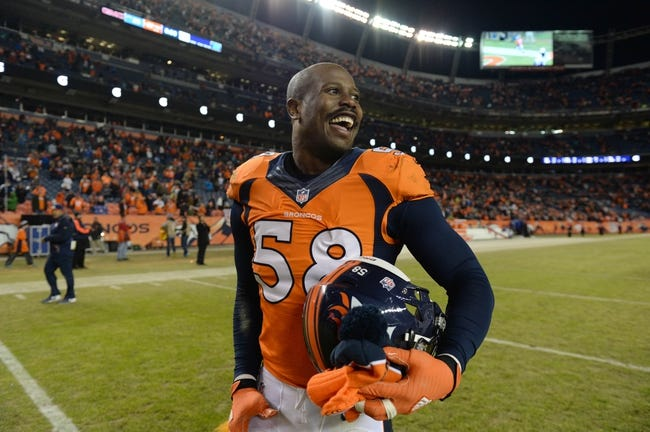 Denver Broncos at San Diego Chargers- 10/13/16 NFL Pick, Odds, and Prediction