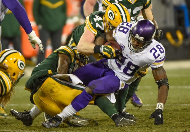 Minnesota Vikings at Green Bay Packers 1/3/16 NFL Score, Recap, News and Notes