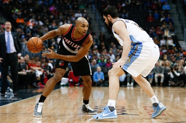 Nuggets at Trail Blazers - 4/13/16 NBA Pick, Odds, and Prediction