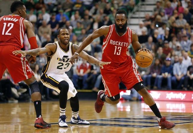 Jazz at Rockets - 1/7/16 NBA Pick, Odds, and Prediction