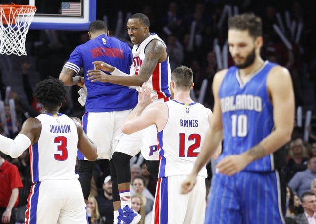 Pistons vs. Magic - 3/23/16 NBA Pick, Odds, and Prediction