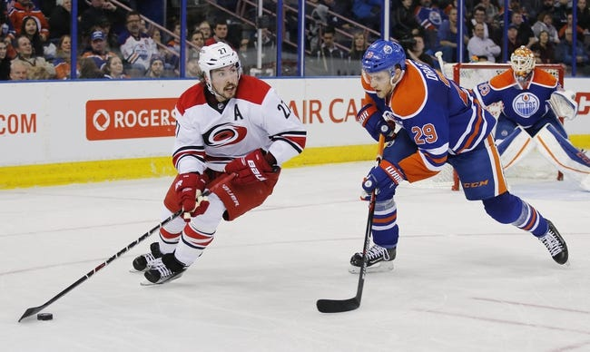 Edmonton Oilers vs. Carolina Hurricanes - 10/18/16 NHL Pick, Odds, and Prediction