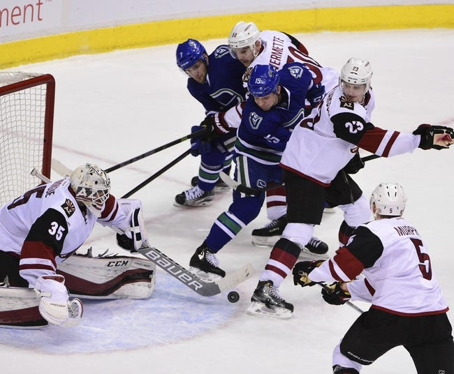 Arizona Coyotes vs. Vancouver Canucks - 2/10/16 NHL Pick, Odds, and Prediction