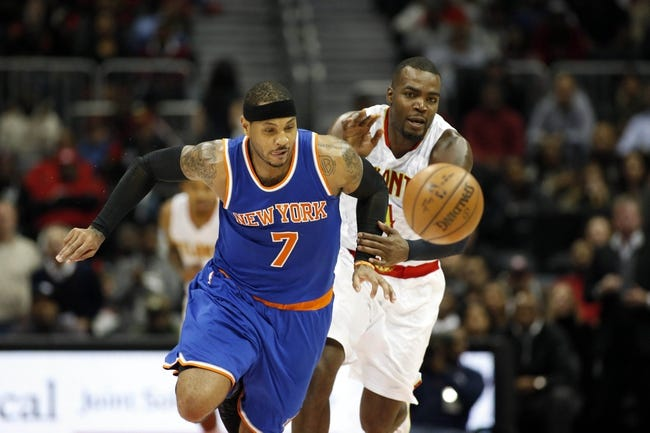 New York Knicks vs. Atlanta Hawks - 11/20/16 NBA Pick, Odds, and Prediction