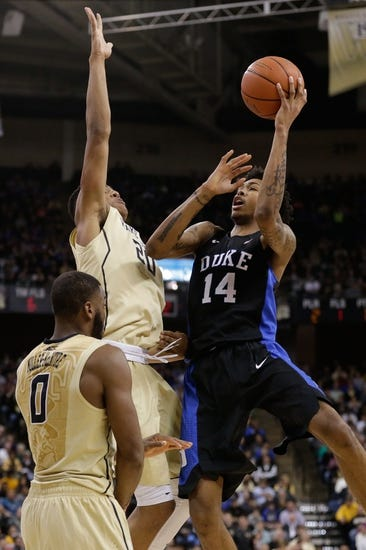 Clemson vs. Duke - 1/13/16 College Basketball Pick, Odds, and Prediction