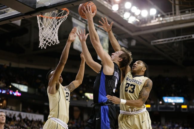 Duke  vs. Wake Forest - 3/1/16 College Basketball Pick, Odds, and Prediction