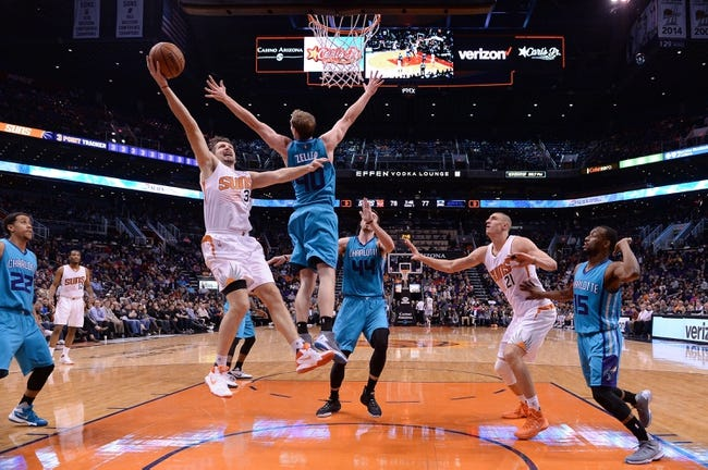 Hornets vs. Suns - 3/1/16 NBA Pick, Odds, and Prediction