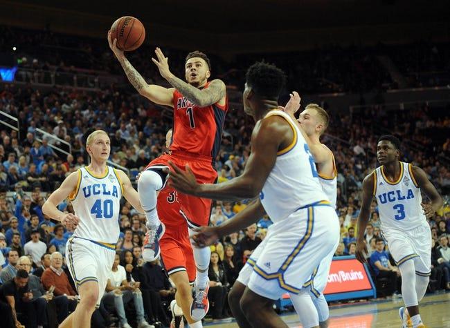 Arizona vs. Washington - 1/14/16 College Basketball Pick, Odds, and Prediction