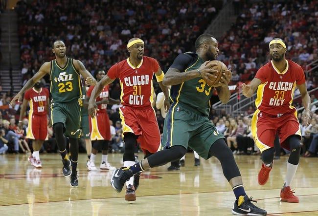 Jazz vs. Rockets - 2/23/16 NBA Pick, Odds, and Prediction