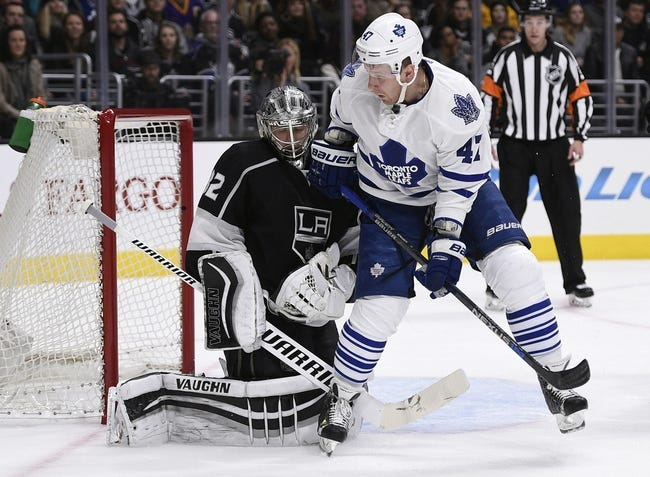 Toronto Maple Leafs vs. Los Angeles Kings - 11/8/16 NHL Pick, Odds, and Prediction