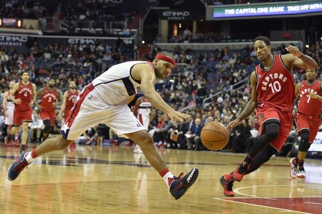 Raptors vs. Wizards - 1/26/16 NBA Pick, Odds, and Prediction