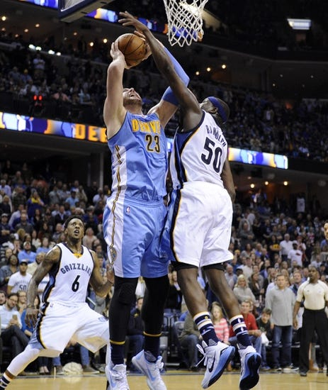 Denver Nuggets vs. Memphis Grizzlies - 1/21/16 NBA Pick, Odds, and Prediction