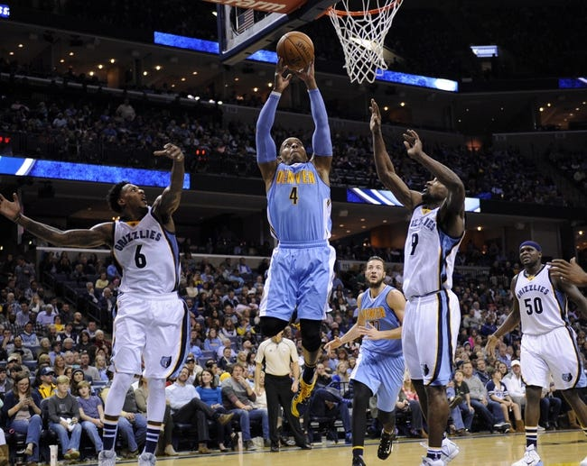 Grizzlies at Nuggets - 1/21/16 NBA Pick, Odds, and Prediction