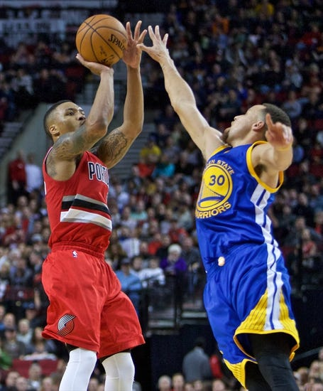 Golden State Warriors at Portland Trail Blazers - 2/19/16 NBA Pick, Odds, and Prediction