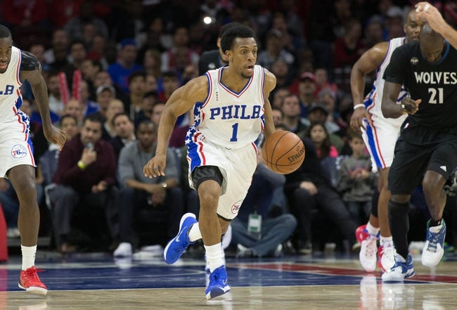 Minnesota Timberwolves vs. Philadelphia 76ers - 11/17/16 NBA Pick, Odds, and Prediction