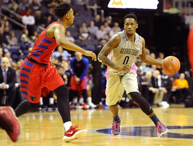 St. John's vs. Georgetown - 1/13/16 College Basketball Pick, Odds, and Prediction