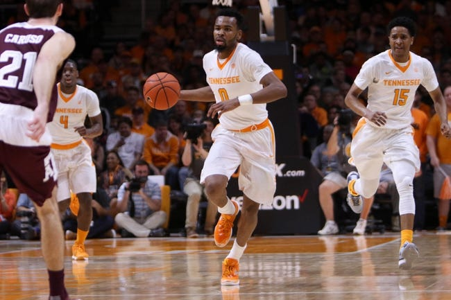 Tennessee vs. South Carolina - 1/23/16 College Basketball Pick, Odds, and Prediction