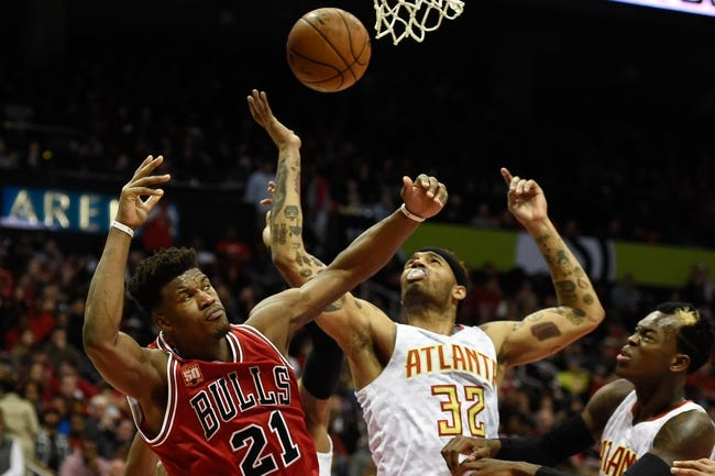 Bulls vs. Hawks - 2/10/16 NBA Pick, Odds, and Prediction