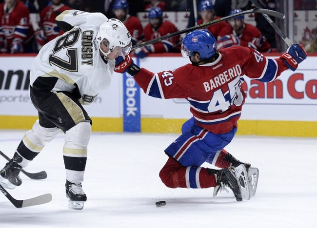 Montreal Canadiens vs. Pittsburgh Penguins - 10/18/16 NHL Pick, Odds, and Prediction