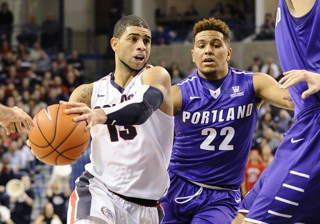 Portland vs. Gonzaga - 2/11/16 College Basketball Pick, Odds, and Prediction