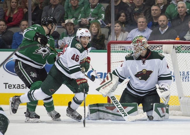 Wild vs. Stars - 2/9/16 NHL Pick, Odds, and Prediction