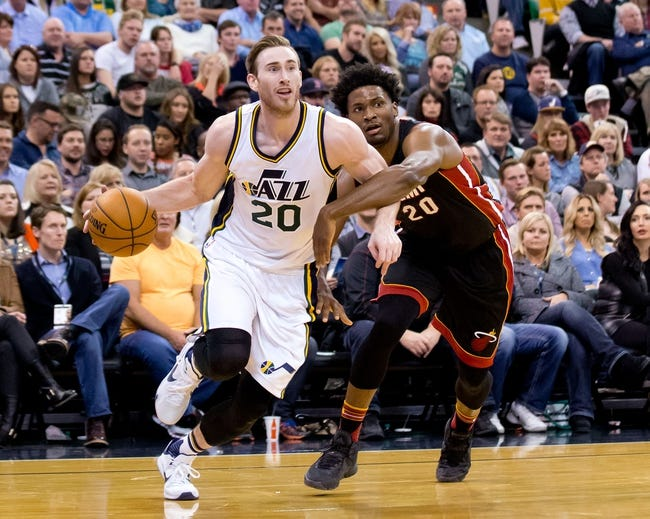 Miami Heat vs. Utah Jazz - 11/12/16 NBA Pick, Odds, and Prediction