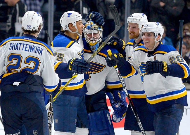 St. Louis Blues vs. Los Angeles Kings - 10/29/16 NHL Pick, Odds, and Prediction