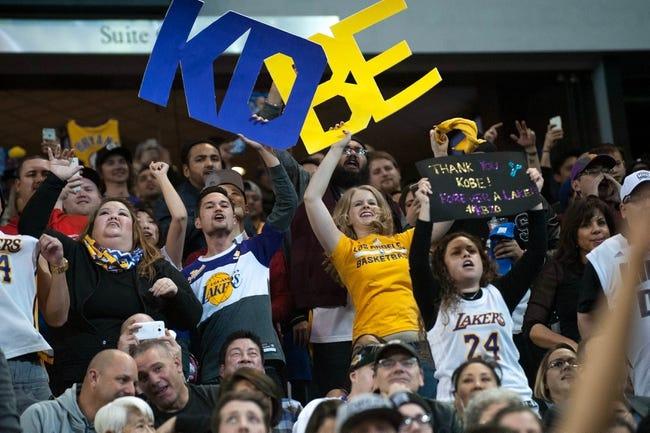 Kings at Lakers - 1/20/16 NBA Pick, Odds, and Prediction