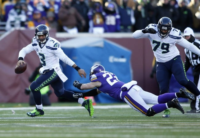 Seattle Seahawks at Minnesota Vikings 1/10/16 NFL Score, Recap, News and Notes