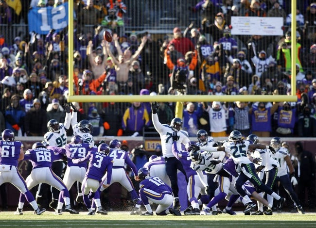 Seattle Seahawks vs. Minnesota Vikings - 8/18/16 NFL Pick, Odds, and Prediction