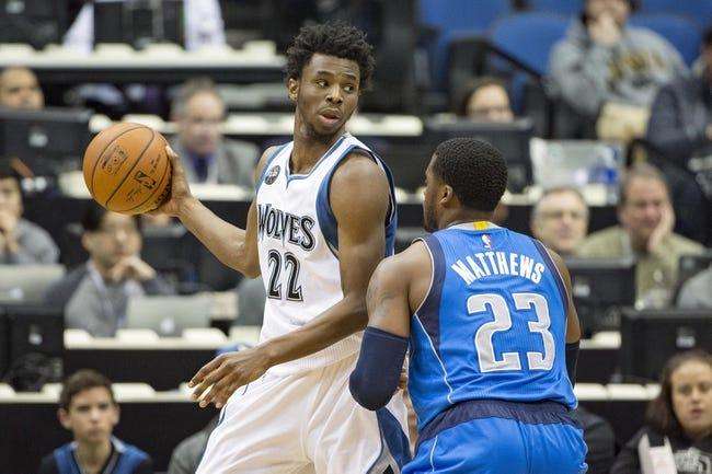 Timberwolves at Mavericks - 1/20/16 NBA Pick, Odds, and Prediction
