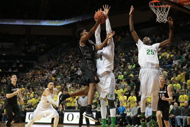 Stanford Cardinal vs. Oregon Ducks - 2/13/16 College Basketball Pick, Odds, and Prediction