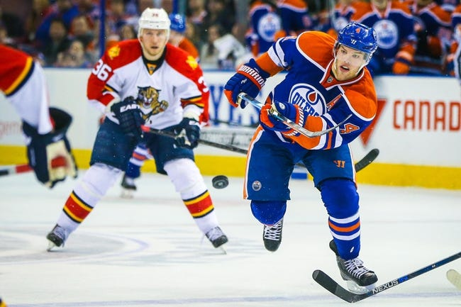 Florida Panthers vs. Edmonton Oilers - 1/18/16 NHL Pick, Odds, and Prediction