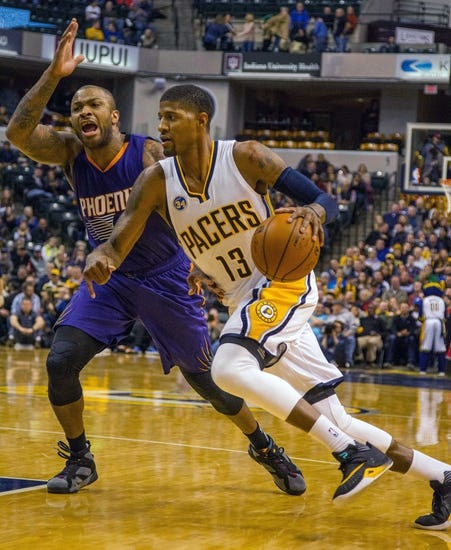Phoenix Suns vs. Indiana Pacers - 1/19/16 NBA Pick, Odds, and Prediction