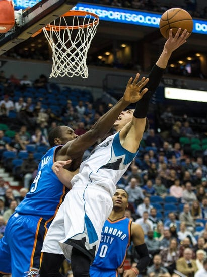 Oklahoma City Thunder vs. Minnesota Timberwolves - 1/15/16 NBA Pick, Odds, and Prediction