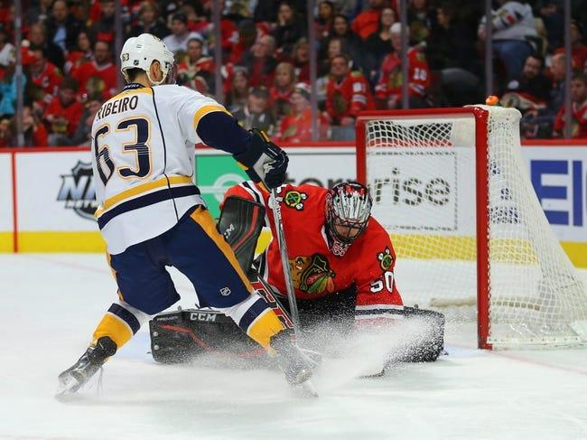 Predators vs. Blackhawks - 1/19/16 NHL Pick, Odds, and Prediction