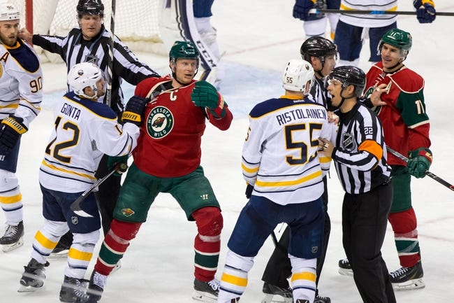 Sabres vs. Wild - 3/5/16 NHL Pick, Odds, and Prediction