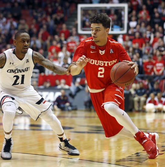 Houston Cougars vs. Tulane Green Wave - 3/11/16 College Basketball Pick, Odds, and Prediction