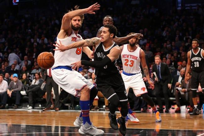 Nets vs. Knicks - 2/19/16 NBA Pick, Odds, and Prediction