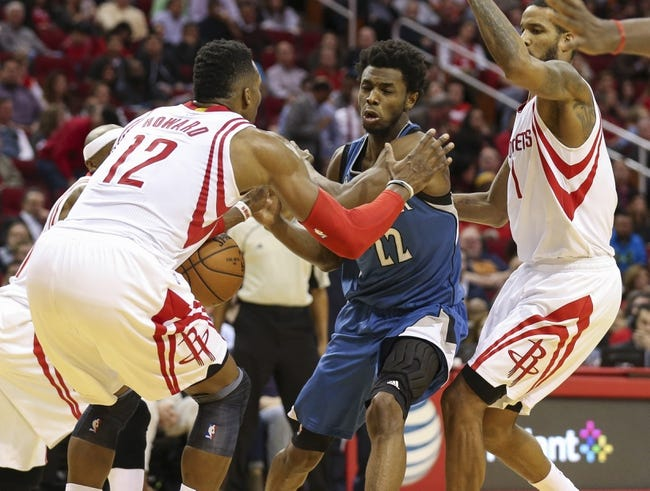 Houston Rockets vs. Minnesota Timberwolves - 3/18/16 NBA Pick, Odds, and Prediction