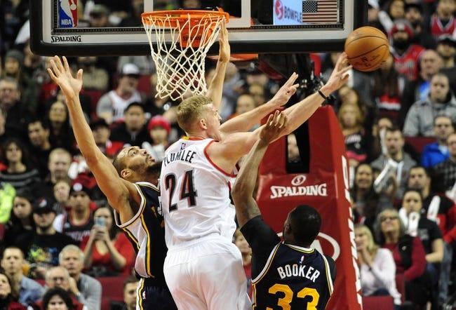 Trail Blazers vs. Jazz - 2/21/16 NBA Pick, Odds, and Prediction