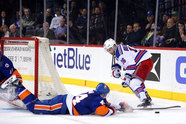 Rangers vs. Islanders - 3/6/16 NHL Pick, Odds, and Prediction