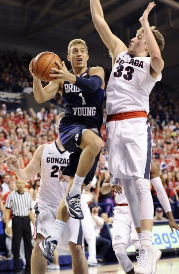 BYU Cougars vs. Pepperdine Waves - 1/30/16 College Basketball Pick, Odds, and Prediction