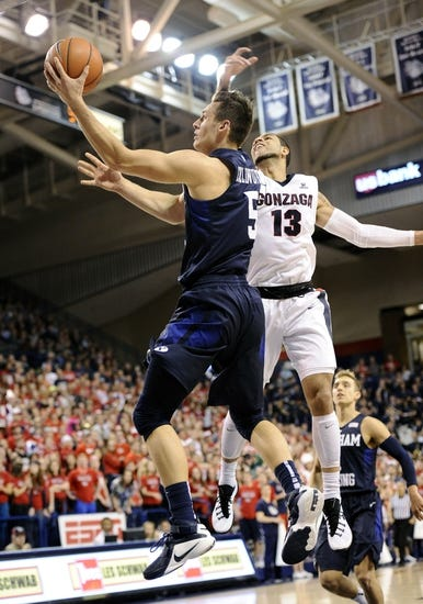 Loyola Marymount Lions vs. BYU Cougars - 1/21/16 College Basketball Pick, Odds, and Prediction