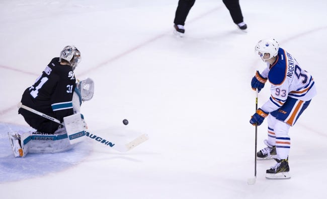 Oilers vs. Sharks - 3/8/16 NHL Pick, Odds, and Prediction