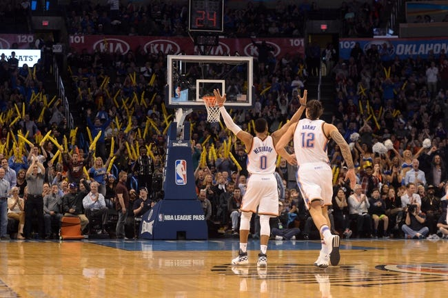 Thunder at Timberwolves - 1/27/16 NBA Pick, Odds, and Prediction