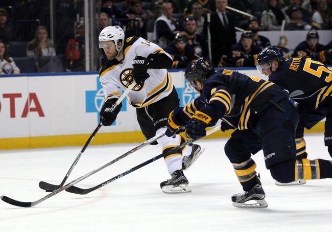 Sabres vs. Bruins - 2/4/16 NHL Pick, Odds, and Prediction