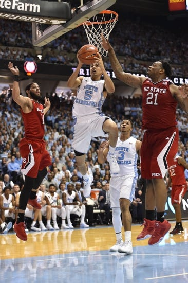 North Carolina Tar Heels vs. Wake Forest Demon Deacons - 1/20/16 College Basketball Pick, Odds, and Prediction